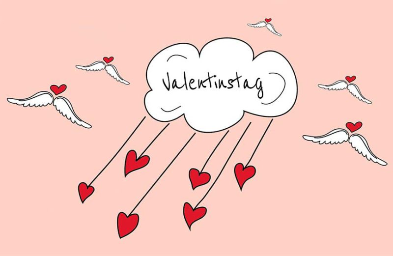 Valentinstag blumen alternative